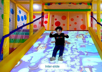 الصين Interactive floor game projector interactive projection wall children game machine مصنع