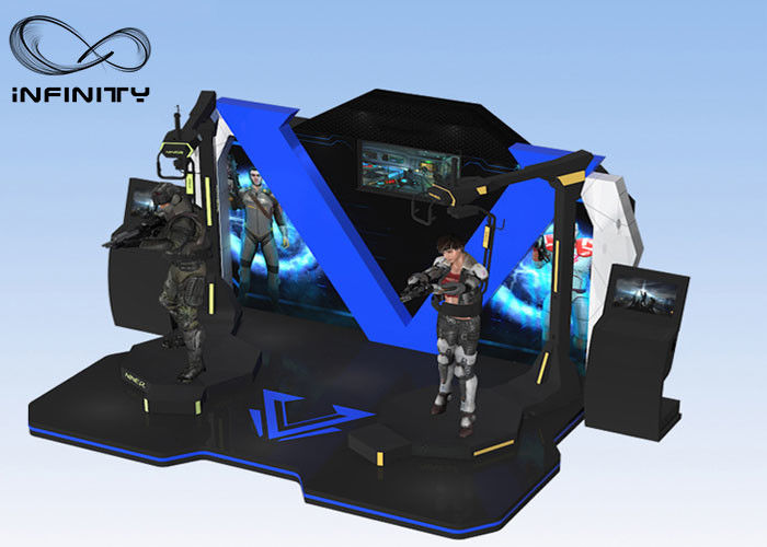INFINITY Multiplayer 4 Virtual Reality Arcade Games Machine / VR منصة دائمة
