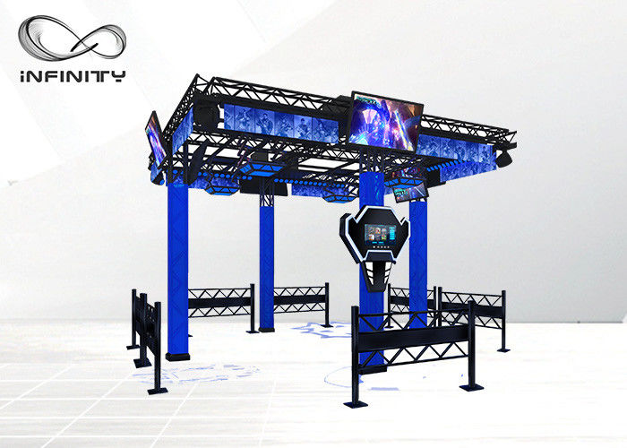 English Version Virtual Reality Walking Platform 9D VR Simulator Games